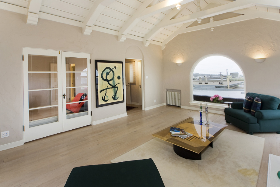 Penthouse with a view for San francisco real estate luxury